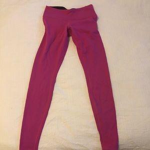 Lululemon Pink Leggings